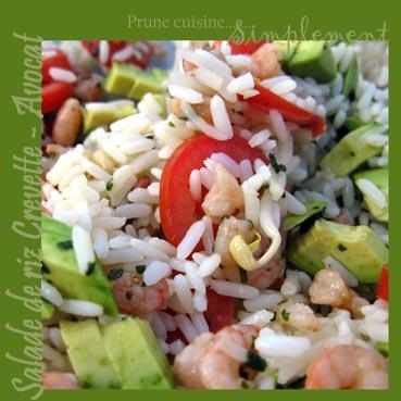 salade crevette tomate soja